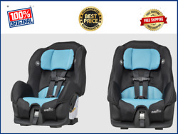 Baby Convertible Car Seat Highback Booster Boys 2in1 Toddler Safety Travel Chair $57.79