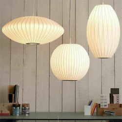 Modern classic George Nelson style bubble chandelier lighting fixture $103.99