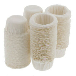 100pcs Disposable Paper Home Kitchen Filters Cups Replacement Coffee Filters $4.99
