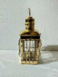 Nautical Brass amp; Copper Polished Anchor Lantern Hanging Lamp Home Decorative $80.09