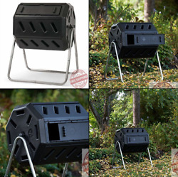 IM4000 Dual Chamber Tumbling Composter Black $76.00