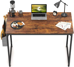 CubiCubi Study Computer Desk 40quot; Home Office Writing Small Desk Modern Simple S $87.66