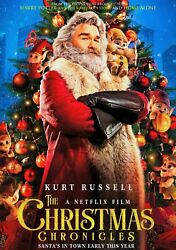 The Christmas Chronicles DVD w Kurt Russell Unopened and Sealed Free Ship