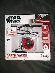 Star Wars Darth Vader Motion Sensing Helicopter Control With Your Hand NEW $20.00
