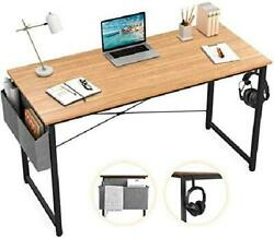 Sengo Computer Desk Home Office Desk Black Desk Laptop Desk Sturdy Work Table P $76.08