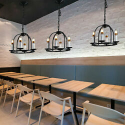 Modern Industrial Kitchen Island Pendant Lamp Chandelier 4 Light Ceiling Lamp US $44.00