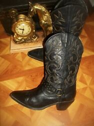 Dingo Cowboy Boots Dingo Harness Western Boots Dingo Pointed Toe Womens Boots 9 $33.00