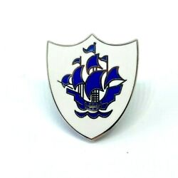 BLUE PETER ENAMEL PIN BADGE NOVELTY KIDS TV SHOW BEST QUALITY GBP 4.49