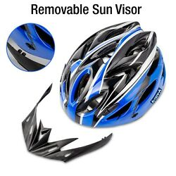 USA Cycling Bicycle Adult Men Womens Bike Helmet With Visor Mountain Shockproof $13.00