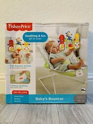 Fisher Price Soothing amp; Fun All In One Baby Bouncer $30.00