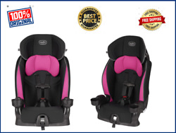 Evenflo Booster Car Seat Chase Lx Jayden Pink Harnessed SALE $62.99
