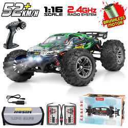 Hosim 1:16 4WD RC Car Brushless Remote Control RC Monster Truck High Speed RTR $139.98