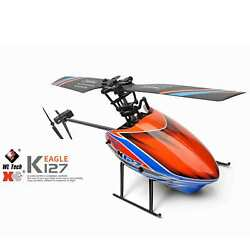 Wltoys XK K127 4CH Remote Control RC Aileronless Helicopter Altitiude Hold RTF $160.85