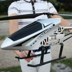 Helicopter Large Remote Control Aircraft With LED lights Electric RC Helicopter $97.95