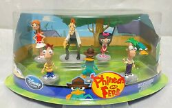 Phineas amp; Ferb : Isabella Candace Dr.Heinz Perry the Platypus mini figure 7 set $71.95