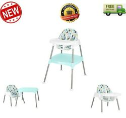 4 in 1 E venflo Eat amp; Grow Convertible High Chair prism triangles NEW $47.99