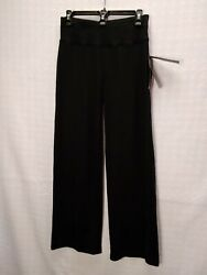 MIZUNO ELITE 9 Black Women#x27;s Volleyball Pants. Poly spandex. Size Small Regular