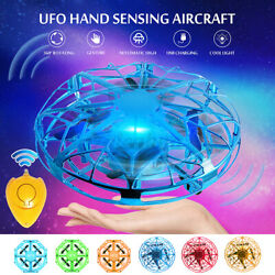 Mini UFO Hand Inductive Aircraft Suspension Flying Toys Suspension Drone Gift $12.89