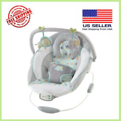 Baby Cradling Bouncer Musical Vibration Rocker Seat Infant Toddler Chair Swing $46.99