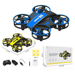Gesture Sensing Remote Control Quadcopter Drone With Lights For Children#x27;s Toys $27.86