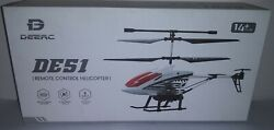 DEERC DE51 Remote Control Helicopter Altitude Hold RC Helicopters $45.00