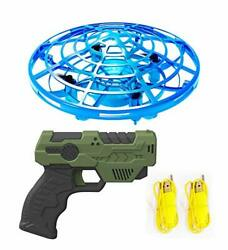 IOKUKI Hand Operated Mini Drones for Kids and Adults with Toy Gun Remote Cont... $17.78