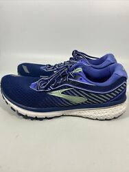 Brooks Ghost 12 Women#x27;s Size 11 Medium B Blue running shoes Excellent condition $39.00