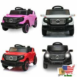 LEADZM Kids Ride on Car Toys 6V Battery Power Wheels Music Light Remote Control $152.48