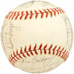 1978 Authentic Autographed Signed AL Baseball 26 Sigs Vada Pinson 192495 $199.00