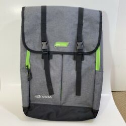 Nvidia GPU Technology Conference Backpack Laptop Case Bag Gray NEW $55.00
