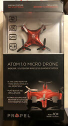 Propel Atom 1.0 Micro Drone Red Brand New $19.99