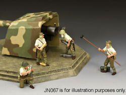 King and Country JN068 quot;Japanese Coastal Gun Crewquot; 1 30 Metal Toy Soldiers $169.00