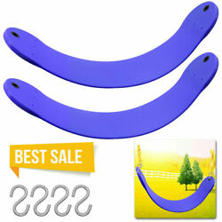 2 Pack Heavy Duty Swing Seat Swing Set Accessories Swing Seat Replacement Blue $25.99