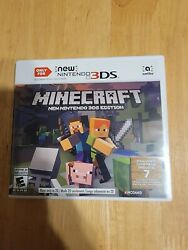 Minecraft for New Nintendo 3DS Nintendo 3DS cib Tested and Working $15.99