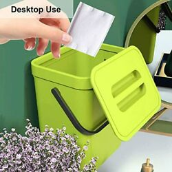 Food Waste Basket Bin for Kitchen Small Countertop Compost Bin with Lid $22.99