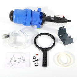 Water driven Chemical Fertilizer Injector Water Proportional Dosing Pump 0.4% 4% $70.00