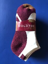 Gold Toe womens socks. Six Pairs. Sock Size 9 11. Shoe Size 6 9. $16.20