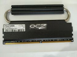 OCZ DDR2 2GB PC2 6400 800Mhz Desktop Memory Tested $19.00