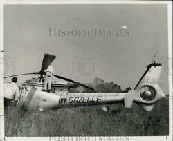 1975 Press Photo Site of Helicopter Accident in Houston Texas hpa45477 $19.88