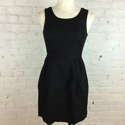 J. Crew Simple Black Dress 4