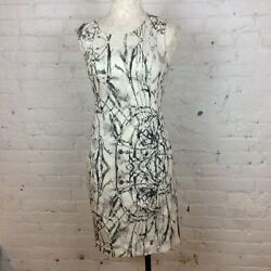 Rachel Roy White amp; Black Dress 8
