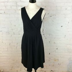 Lands End Black Dress S