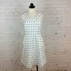 J.crew White and Black Dress 8