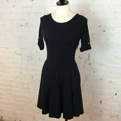 Poof Black Dress S