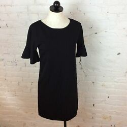 Massimo Dutti Black Dress S