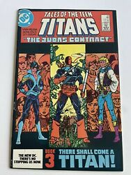 🔥 🔑 Tales Of The Teen Titans #44 1st Nightwing Jericho Mid Grade Condition $40.00