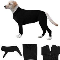 Long Sleeves Bodysuit Jumpsuit Recovery Suit for Pet Dogs Prevent Hair Allergies $10.99