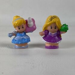 Fisher Price Little People Disney Princess Cinderella And Princess And The Frog $13.98