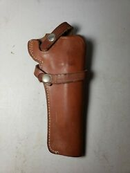antique Vintage Smith And Wesson Leather Gun Holster Model 21 06 $27.00