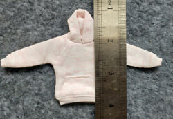 Light Pink 1 12 Hoodie Model For 6quot; Figure Doll $17.99
